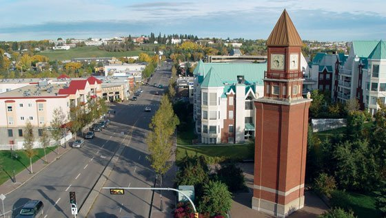 St. Albert Clock Tower - Real Estate in St. Albert