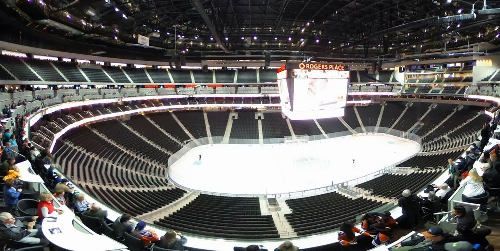 Inside Rogers Place - Edmonton Ice District